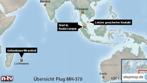 Thema: Flug MH370 der Malaysia Airlines