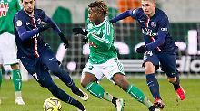 ++ Fußball, Transfers, Gerüchte ++: Hannover 96 vor Leihe von Saint-Maximin