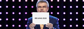 Almaty hat das Nachsehen: Peking trägt Winterspiele 2022 aus