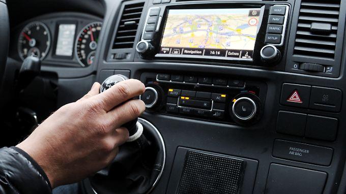 Mit der Technologie von Here wollen die Autobauer zum Beispiel Glatteiswarnungen in Echtzeit anbieten.