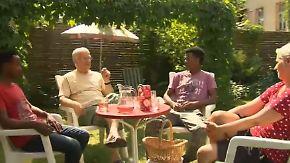 Vorschlag in die Tat umgesetzt: CDU-Politiker nimmt Flüchtlinge bei sich auf