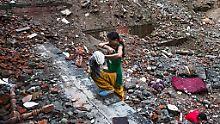 Die Folgen der Beben sind in Nepal allgegenwärtig.