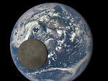 """""""Epic"""" hat die Sonne im Rücken und hält fest, wie der Mond an der Erde vorbeizieht. Das perfekte Bild."""