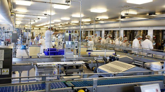 Profitiert vom Wetter: Die Florida-Eis Manufaktur in Berlin