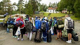 Neuanfang auf Utøya: Erstes Sommerlager nach dem Massaker eröffnet