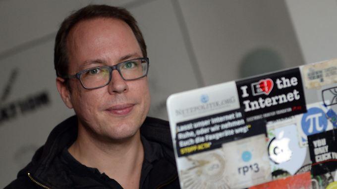 Netzpolitik.org-Chef Markus Beckedahl fordert weitere Aufklärung.