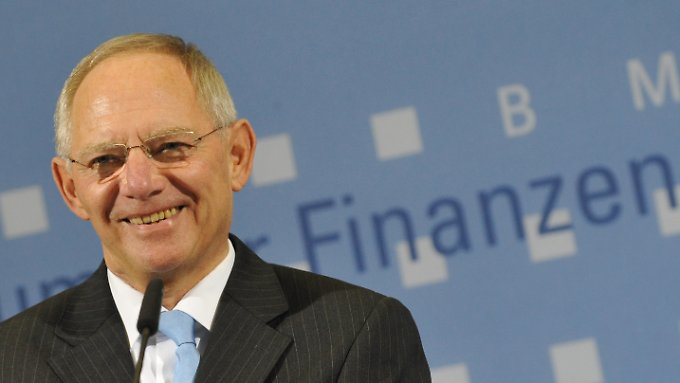 Schäubles Bundeshaushalt trägt mit einem Plus von rund zehn Milliarden Euro etwa die Hälfte zum Gesamtüberschuss des Staates bei.