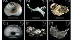 Asteroiden der M-Klasse enthalten viele Metalle, die auf der Erde nur schwer zu schürfen sind.