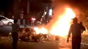 Ausländer unter den Opfern: Bombenanschlag in Bangkok tötet Dutzende Menschen