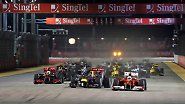Großer Preis von Singapur: Vettel fährt 61 Runden hinterher