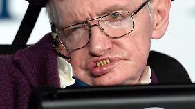 Mittlerweile 74 Jahre alt: Stephen Hawking. Foto:Facundo Arrizabalaga