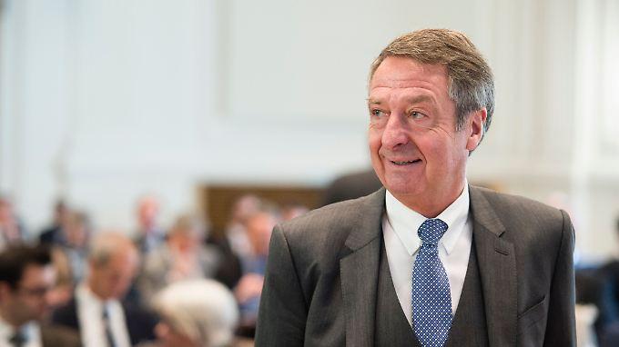 Saftiger Gewinnsprung - mit eingeschränkter Aussagekraft: KfW-Chef Ulrich Schröder.