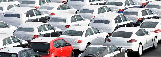 Auch einige Autobauer wie etwa Volkswagen erlitten Einbußen auf dem russischen Markt.