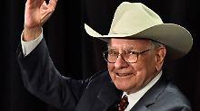 Warren Buffett feiert seinen 85. Geburststag: Seit 50 Jahren leitet der Selfmade-Multimillionär die Geschäfte der Berkshire Hathaway.