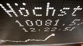 """Chinas Börsen weiter auf Talfahrt: Dax gelingt der """"Turnaround"""""""