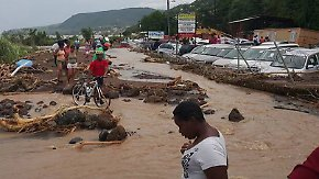 "Mehrere Tote in der Karibik: Tropensturm ""Erika"" zieht Richtung Florida"