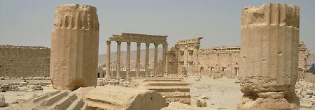 IS-Terror in Palmyra: Dschihadisten sprengen historischen Tempel