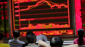 Berg- und Talfahrt an den Börsen: Mut kann sich für Anleger lohnen