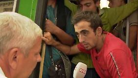 n-tv vor Ort in Budapest: Die meisten Flüchtlinge wollen nach Deutschland