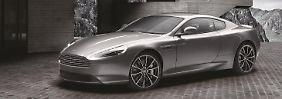 Wer den Aston Martin DB9 in der Bond Edition kauft, hat zwar nicht die Lizenz zum Töten, aber ganz schön Zunder unterm Pops.