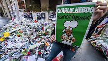 """Nach Anschlag auf Satiremagazin: """"Charlie Hebdo"""" sucht händeringend Zeichner"""