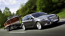 Wer will, bekommt seinen Opel Insignia mit starken Diesel und Allradtechnik.