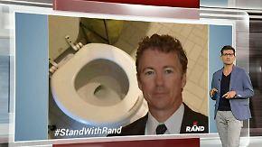 n-tv Netzreporter: US-Senator Rand Paul hat ein Selfie-Problem