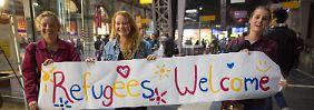 Solidarität für Tausende Flüchtlinge: Hier zeigt sich das helle Deutschland