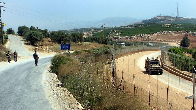 Entlang der israelisch-jordanischen Grenze soll ein Zaun errichtet werden wie hier an der Grenze zum Libanon.