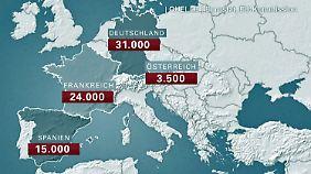 Verteilung der Flüchtlinge in EU: Juncker plant feste Vorgaben für alle