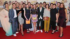 """Von Lena bis Elyas M'Barek: Stars feiern Premiere von """"Fack Ju Göhte 2"""""""