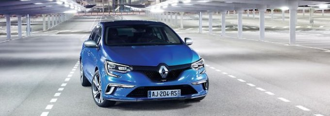 Renault  präsentiert auf der IAA in Frankfurt die neue, vierte Generation des Megane.