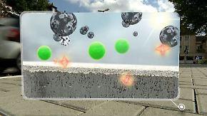Umweltengel dank Betonzusatzstoff?: Pflastersteine sollen Großstadtluft reinigen