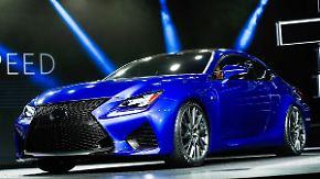 Rasen für Individualisten: Lexus RC F brummt sich ins Herz von PS-Fans