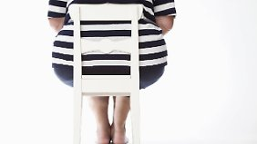 Übergewicht muss nicht zwingend träge machen.