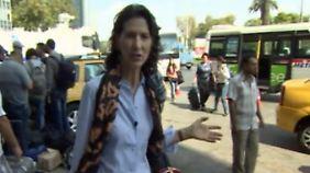 """Antonia Rados vor Ort in Izmir: Gerüchte über """"Engel Merkel"""" ermutigen Flüchtlinge"""