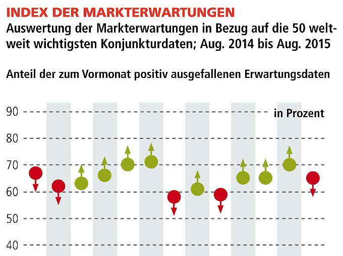 Index der Markterwartungen (klicken zum vergrößern)