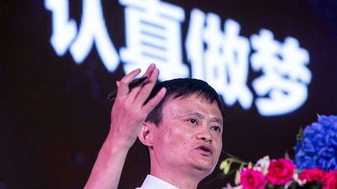 Alibaba-Gründer Jack Ma: Für manche sind die Zahlen des Shopping-Giganten zu schön um wahr zu sein.