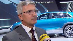 """Audi-Chef Stadler: """"Wir geben die richtigen Antworten"""""""