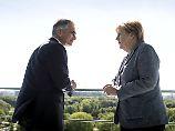 Kanzler Faymann bei Merkel: Europas Notstromaggregat