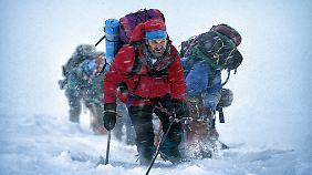 """Kinotipp: """"Everest"""": Starriege quält sich in fesselndem Überlebensdrama"""