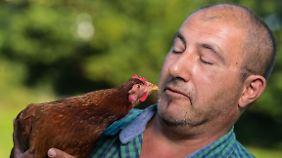 Wo kommt das Ei her?: Bauer vermietet Hühner mit allem Drum und Dran