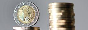 Von einer Inflationsrate von zwei Prozent ist die Eurozone derzeit weit entfernt.