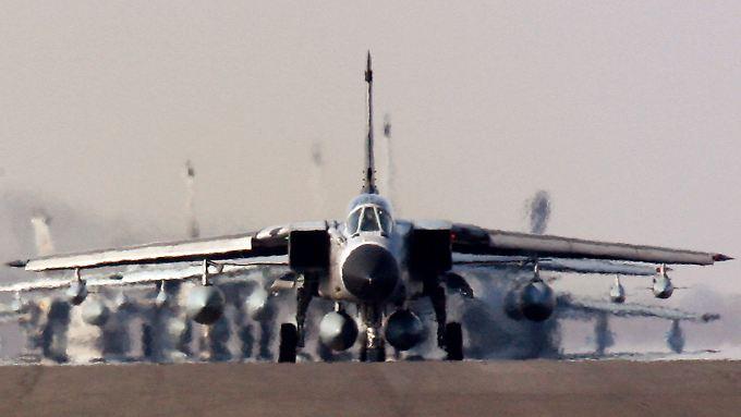 Deutsche Tornados sollen auch mit modernen US-Atomwaffen angreifen können.