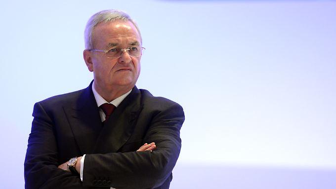 VW-Chef Martin Winterkorn will nicht von seinem Amt zurücktreten.