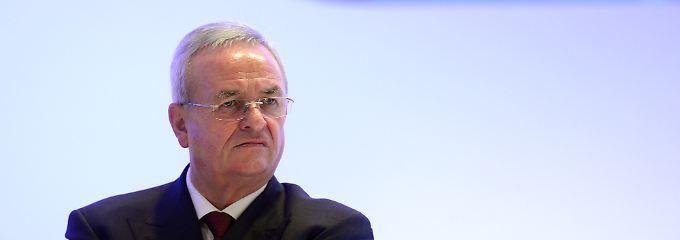 VW-Chef wusste früh von Manipulation: Bericht: Winterkorn hoffte auf Vertuschung