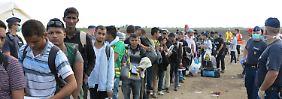 Gegen Widerstände aus Osteuropa: EU setzt Verteilung von 120.000 Flüchtlingen durch
