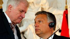 """Ungarns Premier bei der CSU: """"Orbán hat Unterstützung und nicht Kritik verdient"""""""