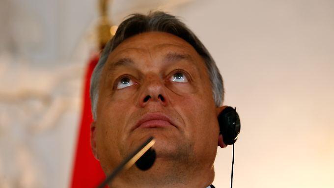 Viktor Orban will nicht, dass sich Ungarn durch massenhafte Einwanderung verändert.