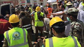 Unglück in Mekka: Hunderte Gläubige sterben bei Massenpanik